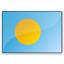Flag Palau Icon 64x64
