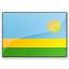 Flag Rwanda Icon 64x64