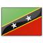Flag Saint Kitts And Nevis Icon 64x64
