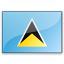 Flag Saint Lucia Icon 64x64