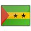 Flag Sao Tome And Principe Icon 64x64