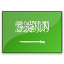 Flag Saudi Arabia Icon 64x64