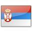 Flag Serbia Icon 64x64