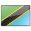 Flag Tanzania Icon 64x64