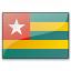 Flag Togo Icon 64x64
