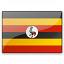 Flag Uganda Icon 64x64