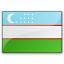 Flag Uzbekistan Icon 64x64