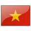 Flag Vietnam Icon 64x64