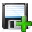 Floppy Disk Add Icon 64x64