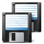 Floppy Disks Icon 64x64