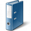 Folder 2 Blue Icon 64x64