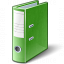 Folder 2 Green Icon 64x64