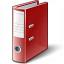 Folder 2 Red Icon 64x64