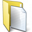 Folder 3 Document Icon 64x64