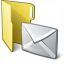 Folder 3 Mail Icon 64x64