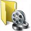 Folder 3 Movie Icon 64x64