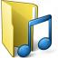 Folder 3 Music Icon 64x64