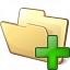 Folder Add Icon 64x64