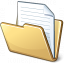 Folder Document Icon 64x64