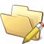Folder Edit Icon 64x64