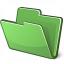 Folder Green Icon 64x64