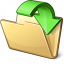 Folder Into Icon 64x64