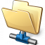 Folder Network Icon 64x64