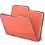 Folder Red Icon 64x64