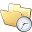 Folder Time Icon 64x64
