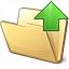 Folder Up Icon 64x64