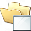 Folder Window Icon 64x64