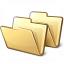 Folders Icon 64x64