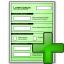 Form Green Add Icon 64x64