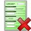 Form Green Delete Icon 64x64