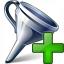 Funnel Add Icon 64x64