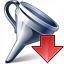 Funnel Down Icon 64x64
