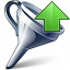 Funnel Up Icon 64x64