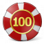 Gambling Chip Icon 64x64