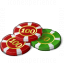 Gambling Chips Icon 64x64