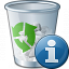 Garbage Information Icon 64x64