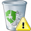 Garbage Warning Icon 64x64
