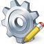 Gear Edit Icon 64x64