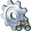 Gear Find Icon 64x64