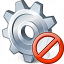 Gear Forbidden Icon 64x64