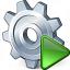 Gear Run Icon 64x64