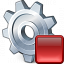 Gear Stop Icon 64x64