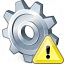 Gear Warning Icon 64x64
