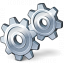 Gears Icon 64x64