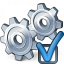 Gears Preferences Icon 64x64