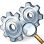 Gears View Icon 64x64